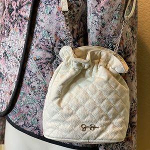 Jessica Simpson White Crossbody Bag